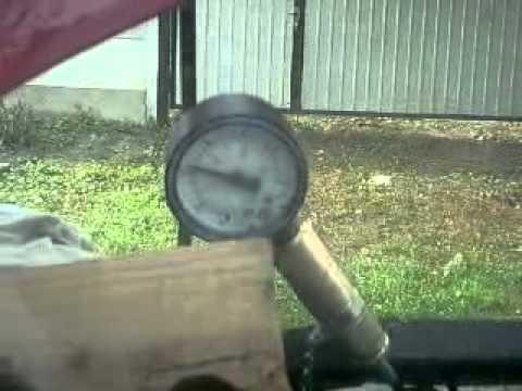 Замір тиску масла на прогрітому двигуні 1,6HDI на Peugeot Expert