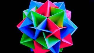 getlinkyoutube.com-How to make an Origami Twinboat Icosahedron