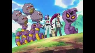 getlinkyoutube.com-Equipo Rocket libera a Arbok y Weezing