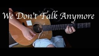 getlinkyoutube.com-Charlie Puth - We Don't Talk Anymore ft. Selena Gomez - Fingerstyle Guitar