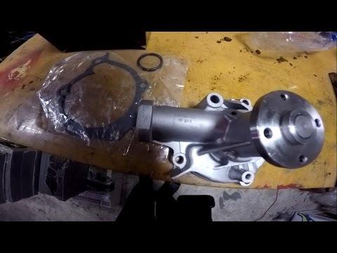 Замена помпы (насос охлаждающей жидкости) (Replace Water Pump/Coolant pump)