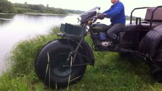 getlinkyoutube.com-Мотоцикл Урал   мотовездеход и амфибия