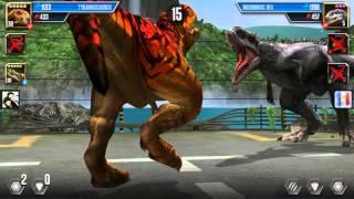 getlinkyoutube.com-LOS TRES MAS FUERTES-Antarctopelta-Jurassic World