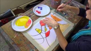 getlinkyoutube.com-Acrylmalerei erste Schritte  Farben mischen