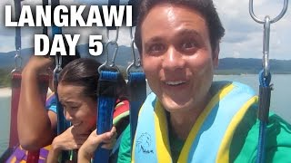 Rice and Curry, Parasailing, and Sunset Dinner Cruise in Langkawi (Day 5)