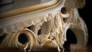 getlinkyoutube.com-Italian furniture  Gold leaf furniture  مفروشات كلاسيكية فاخرة