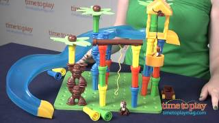 getlinkyoutube.com-Lauri Tall-Stacker Mighty Monkey Playset from Patch Products