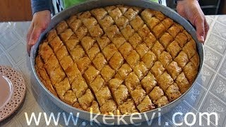 Easy Turkish Baklava Recipe from scratch!