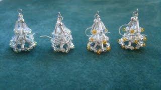 getlinkyoutube.com-Beading4perfectionists : Christmas tree earring (video version) beginning beaders tutorial