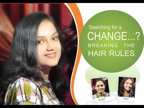 Cutting Colouring & Styling for new Hair Styles-Smoothening-A new look-beauty parlour in kottayam