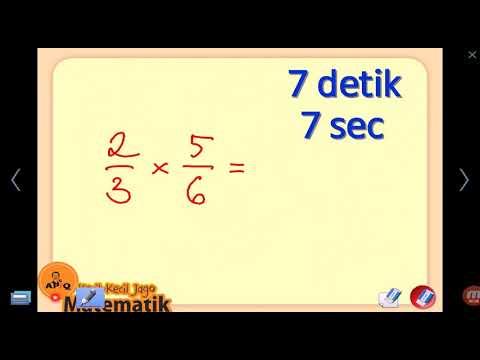 Cara Cepat Belajar Matematika Pecahan