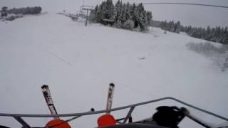 Alpine skiing at Hafjell, Norway