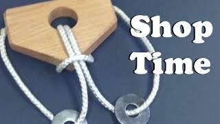 getlinkyoutube.com-How To Make A Wooden Rope Puzzle