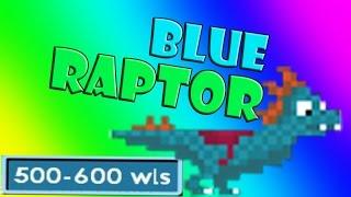 getlinkyoutube.com-Growtopia - Blue Riding Raptor (RARE)