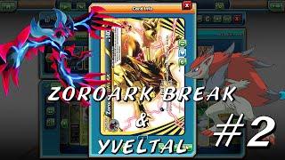 Zoroark BREAK & Yveltal Deck! #2 Pokemon Trading Card Game Online!