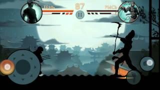 """getlinkyoutube.com-1-ый босс в игре Shadow Fight 2,,Рысь"""""""