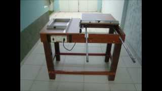 Serra de Mesa e Esquadrejadeira (Table Saw Homemade)