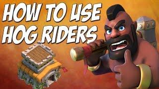 getlinkyoutube.com-Clash of Clans: Hog Rider Attack Strategy TH8 - 3 Star Tutorial