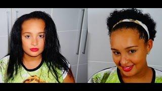 getlinkyoutube.com-Voltando aos cachos- Big chop da minha irmã Renata barros