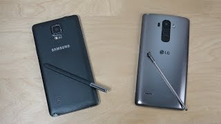 getlinkyoutube.com-Samsung Galaxy Note 4 vs. LG G4 Stylus - Which Is Faster? (4K)