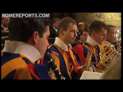 Swiss Guard launches Christmas music album