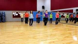 getlinkyoutube.com-Dream Lover - Line Dance (Dance & Teach in English & 中文)