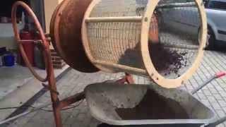 getlinkyoutube.com-Lescha-Mischmaschine Umbau zum Rollsieb