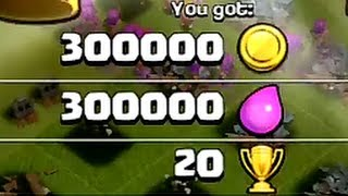 Stealing exactly 600k - Clash of Clans