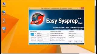 getlinkyoutube.com-Testing Easy Sysprep 4 721 Multilanguages 4.0.16.391 With Windows 8.1