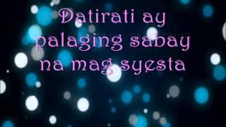 Dati   Sam Concepcion Lyrics)