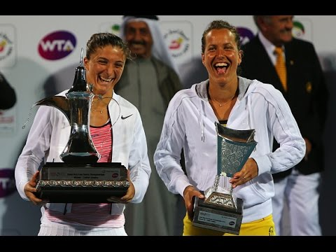 2016 Dubai Duty Free Tennis Championships Final WTA Highlights | Sara Errani vs Barbora Strycova