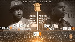 JOHN JOHN DA DON VS AYE VERB SMACK/ URL