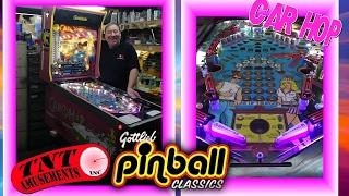 getlinkyoutube.com-#1232 Gottlieb CAR HOP Pinball Machine Restored with LED's TNT Amusements