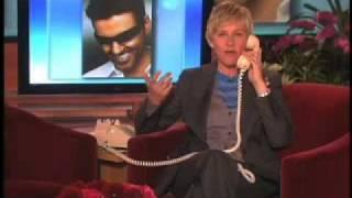 getlinkyoutube.com-George Michael on The Ellen DeGeneres Show