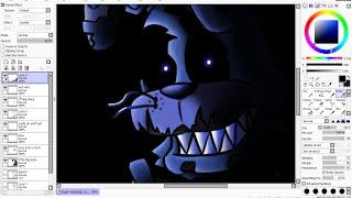 FNAF 4 Nightmare Bonnie Speedpaint