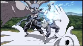getlinkyoutube.com-Skillet - Rise | Deidara vs. Sasuke [AMV]
