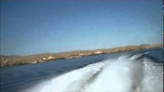 getlinkyoutube.com-Lake Havasu, Fountain 42 Lightning, Twin Mercury Racing 700 SCi, NXT/#6, 6 blade Herings
