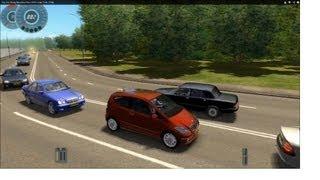 getlinkyoutube.com-City Car Driving Mercedes-Benz A200 coupe Turbo [720p]