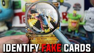 getlinkyoutube.com-FAKE Pokemon Cards - How to Identify Fake Pokemon Cards