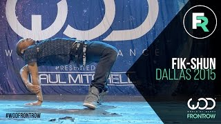 getlinkyoutube.com-Fik-Shun | FRONTROW | World of Dance Dallas 2015 #WODDALLAS2015