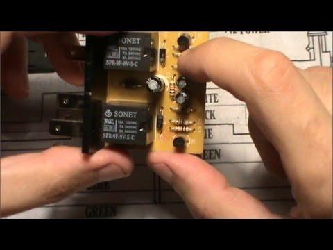 Ремонт блока управления автомобильного электрозамка