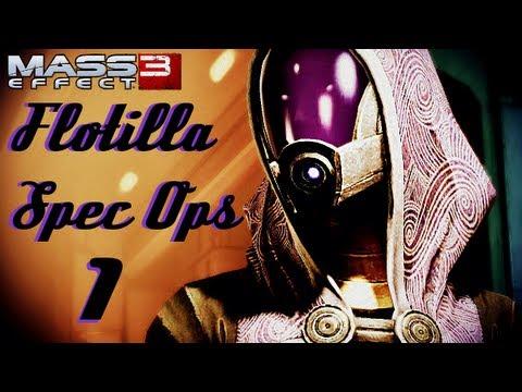 ME3  Flotilla Spec Ops (Live Commentary)