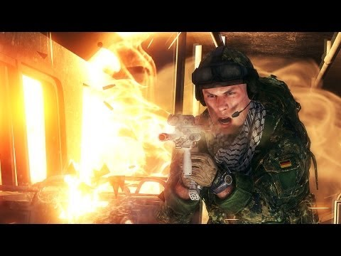 Medal of Honor Warfighter Fireteam Gameplay Multiplayer Trailer 2 - GamesCom 2012