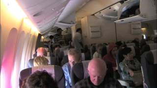 getlinkyoutube.com-United Airlines 777 Economy Class Chicago to Beijing