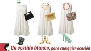 getlinkyoutube.com-Un vestido blanco, para cualquier ocasión