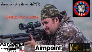 """American Air Arms Slayer .357 And Beavers Hunter """" Review 2017"""""""