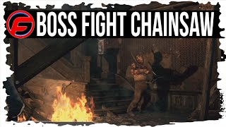 getlinkyoutube.com-The Evil Within How to Defeat Chainsaw BOSS FIGHT Chapter 3 Claws of the Horde