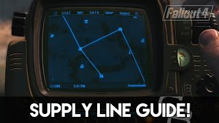 getlinkyoutube.com-Fallout 4 - Supply Line Guide! (How To Use Supply Lines)