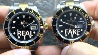 getlinkyoutube.com-How to Spot a Fake Rolex - Comparing a Real to a Fake