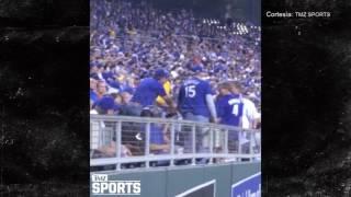 Un hombre golpeó a una mujer durante un partido de los Royals en el Kauffman Stadium